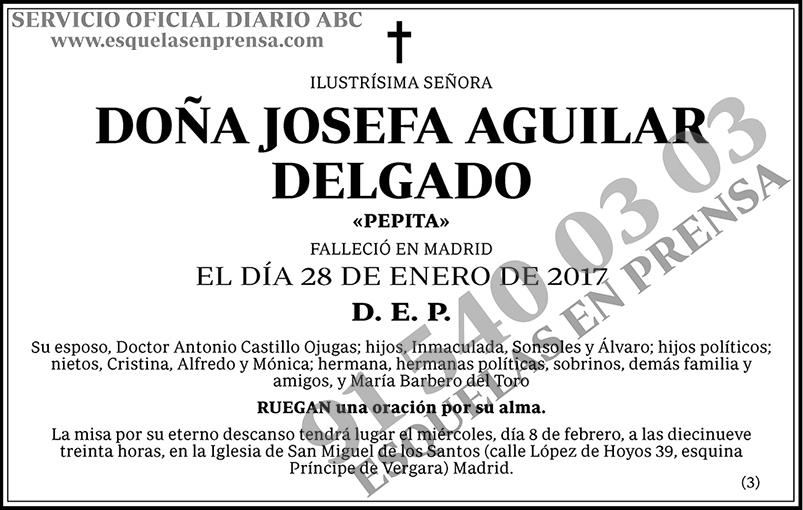 Josefa Aguilar Delgado